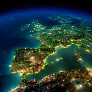 Gewerbestrom-Verbrauch in Europa