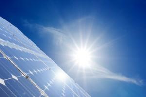 Energieerzeugung durch Solarstrom